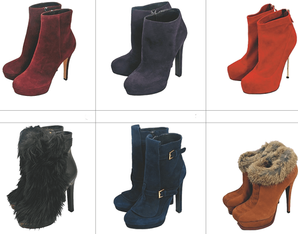 сезон зима 2011-2012 обувь