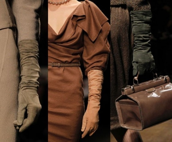 мода, перчатки