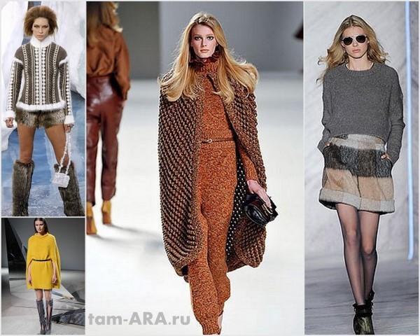 мода, поуловеры, свитера