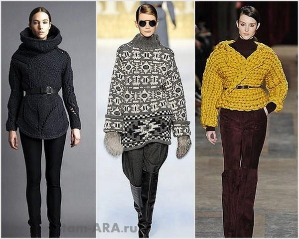 Полувер, кардиган, свитер — модно и красиво
