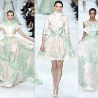 Коллекция дизайнера Elie Saab Couture весна 2012 года