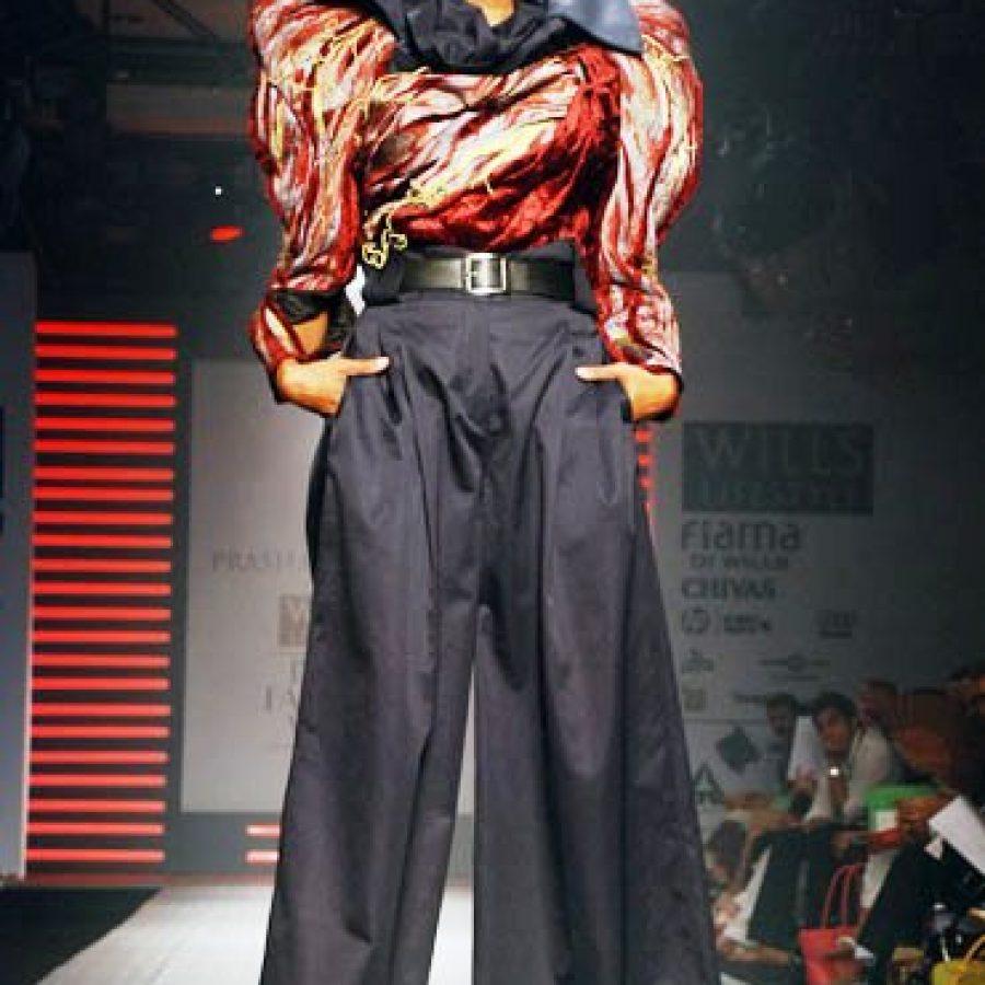 стиль фьюжн в модной одежде