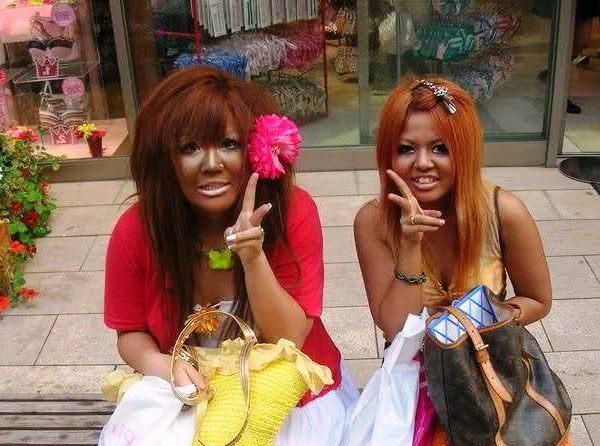Стиль гангуро — креативная японская мода