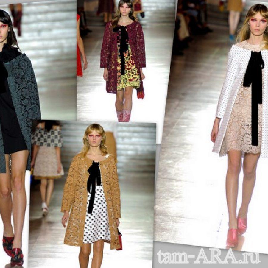 Miu Miu модные жакеты 2012