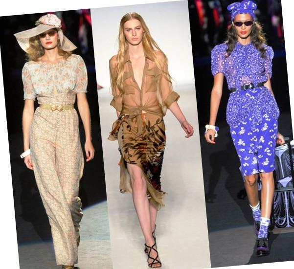 блузки на весну 2012