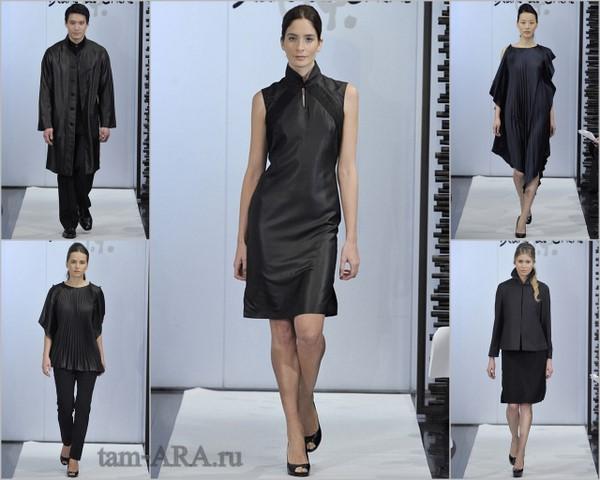 Модные показы моделей платьев и