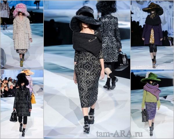 Marc Jacobs коллекция Нью-йоркской Неделе моды