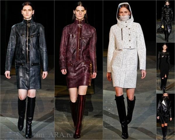 Alexander Wang неделя моды зима 2012-2013
