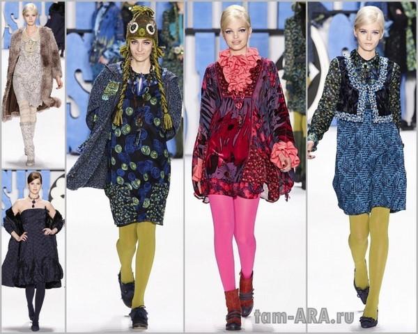 Коллекция от эпатажных и знаменитых дизайнеров на Неделе Моды в Нью Йорке