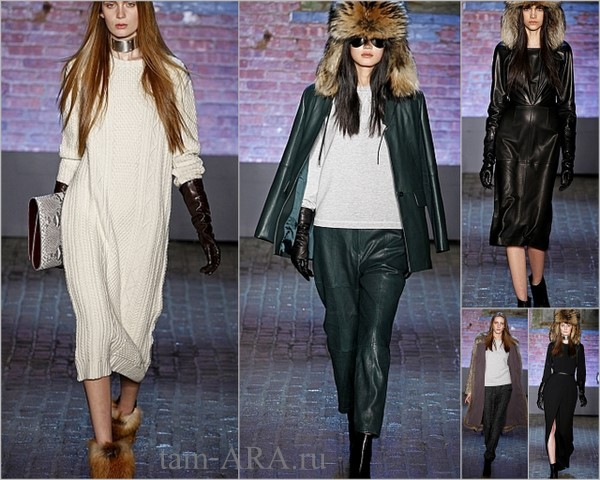 Yigal Azroue зима 2012-2013, Нью-Йорк неделя моды