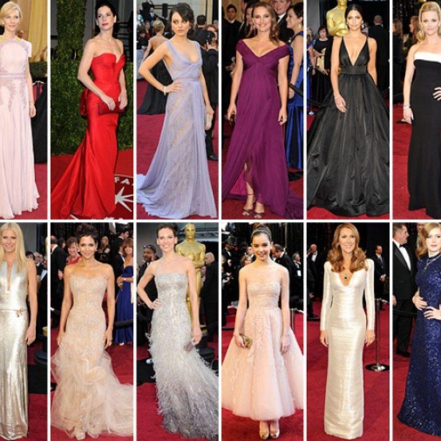 платья дизайнеров одежды для церемонии Оскар