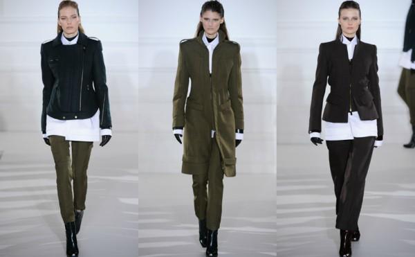 Показ Aquascutum, Неделя высокой моды в Лондоне 2012-2013
