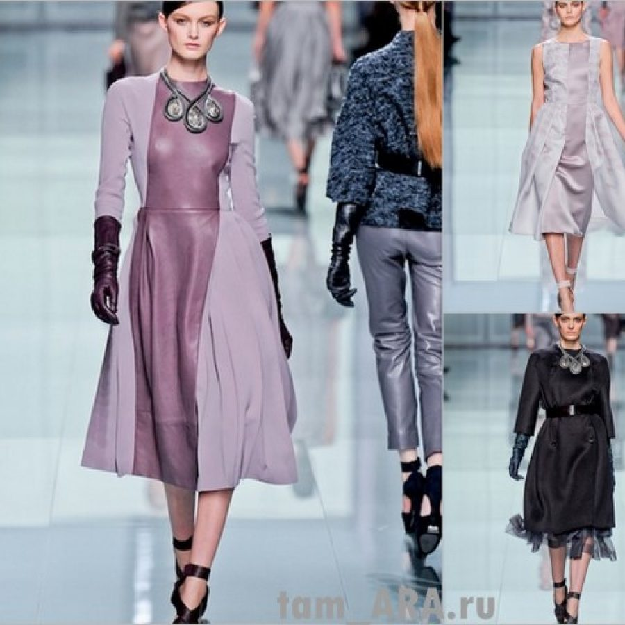 Fashion Week Париж, показ коллекции одежды Дома моды Dior