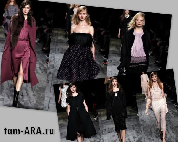 Парижский Fashion Week — коллекции одежды Nina Ricci и от Dior