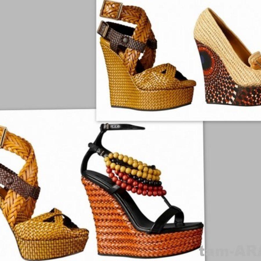 обувь, модные тренды Burberry Prorsum