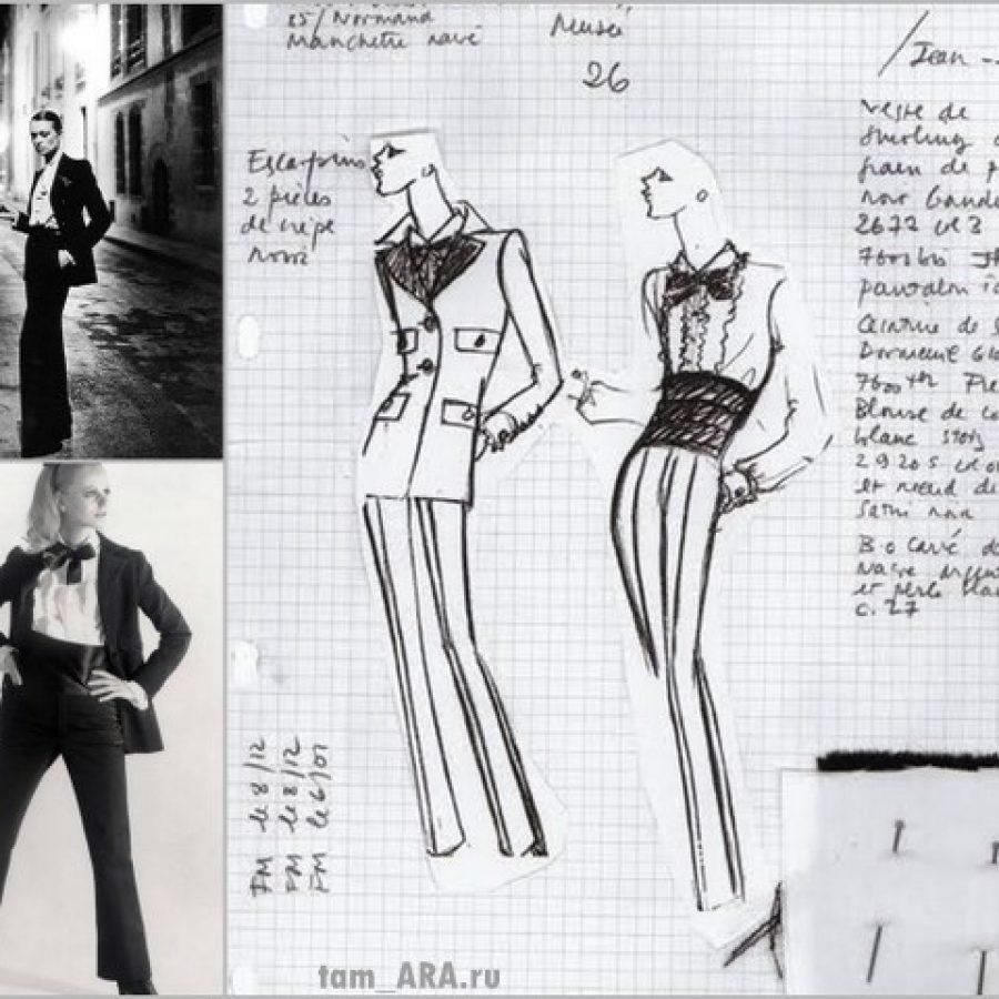 Брюки и брючный костюм, история женской моды