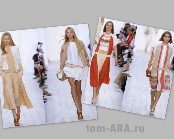 коллекция весна-лето 2012, дом моды Chloe