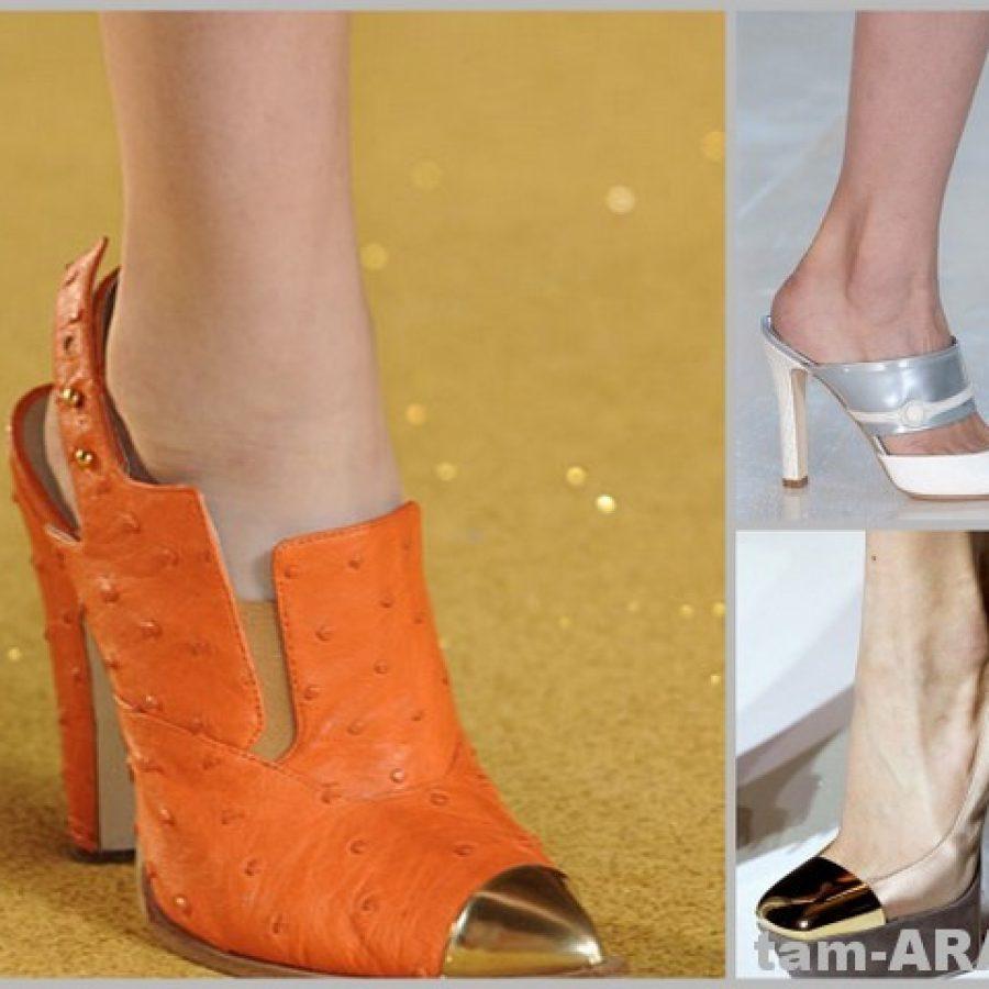 Мировые бренды Thakoon, Louis Vuitton и Yves Saint Laurent в обуви