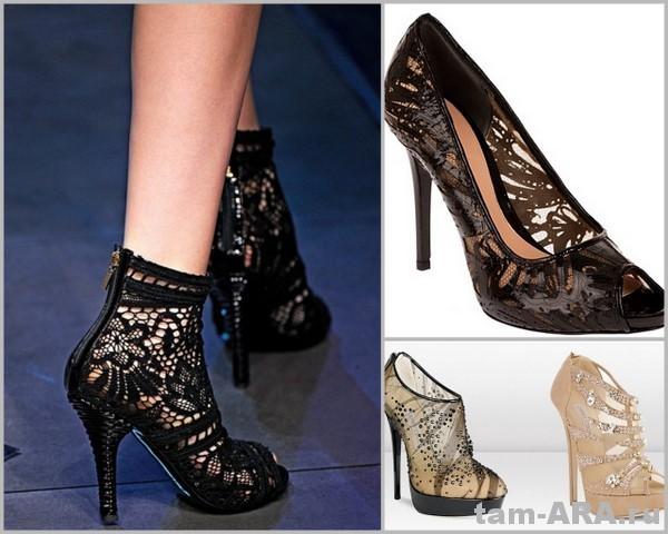 модная обувь  Dolce&Gabbana, Jimmy Choo, Alexander McQueen