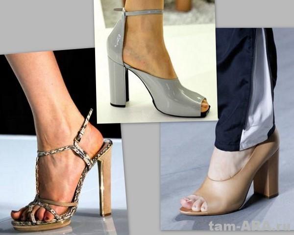 Стильная женщина носит модную обувь (весна-лето)