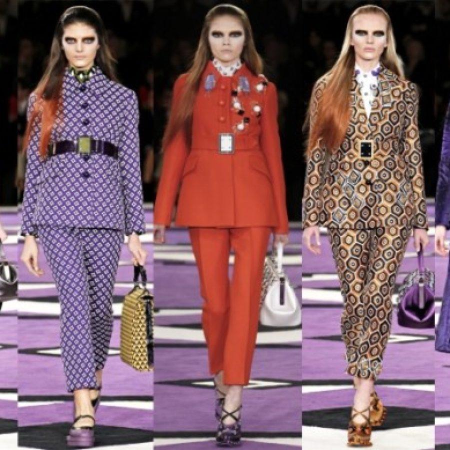 Prada, Неделя моды в Милане. коллекция одежды осень-зима 2012