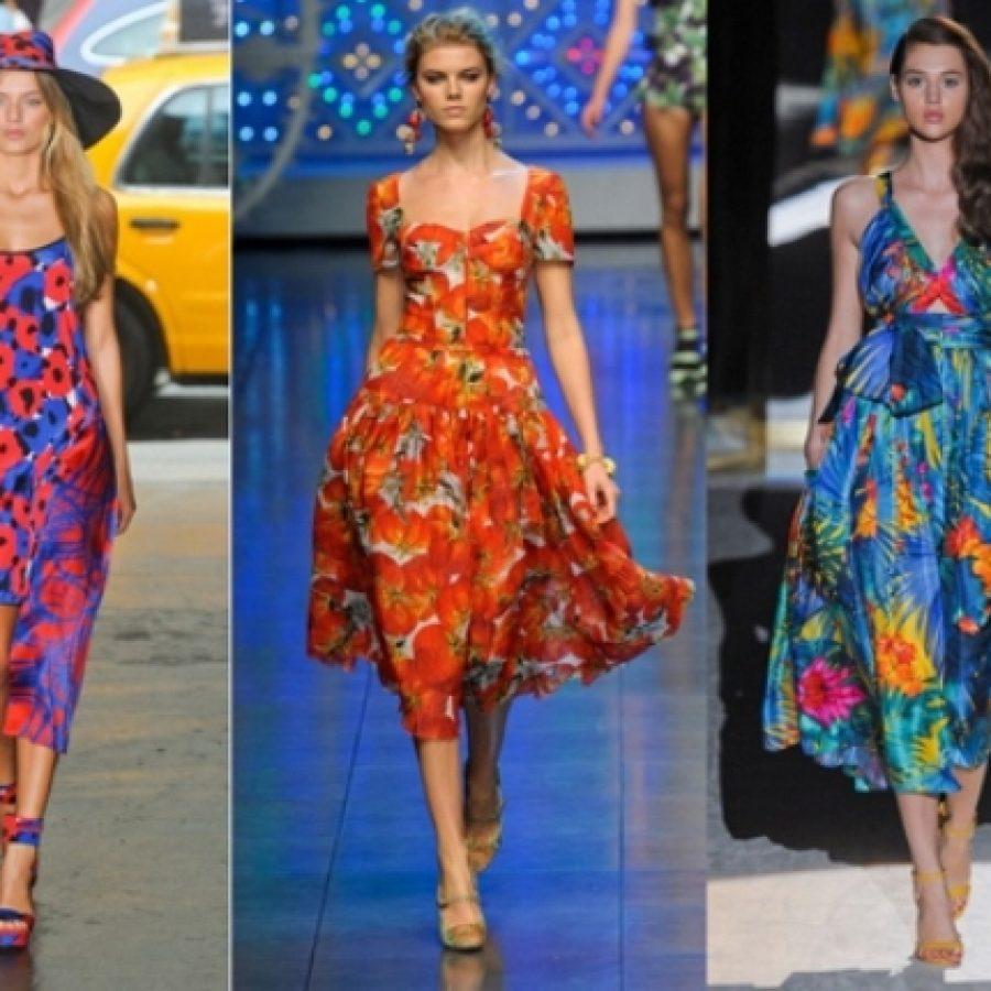 модные тренды одежды сезона лето 2012