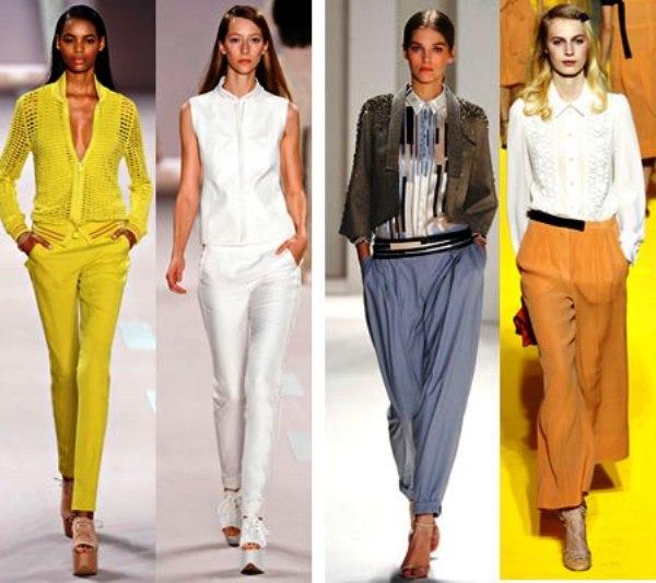 модные тренды одежды грядущего сезона