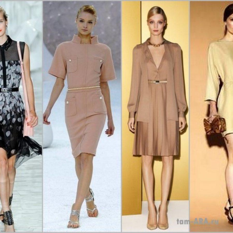Модные платья, комфорт и минимализм