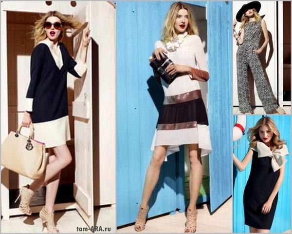 платья сезона весна-лето 2012