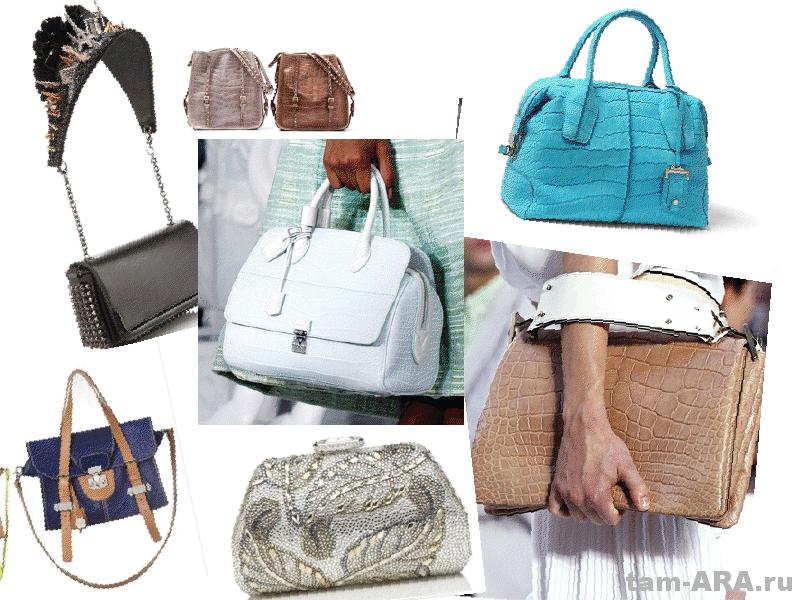 Модная сумочка стильной женщины, тенденции весенне летнего сезона