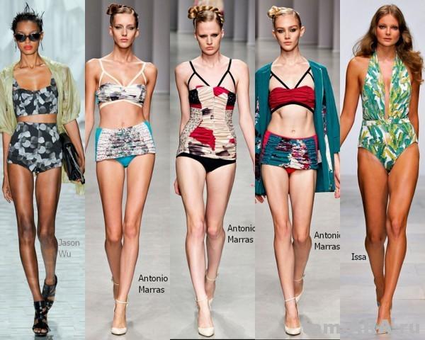 ретро купальник- модный тренд сезона2012