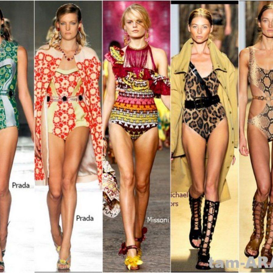 тренд сезона2012, модный ретро купальник