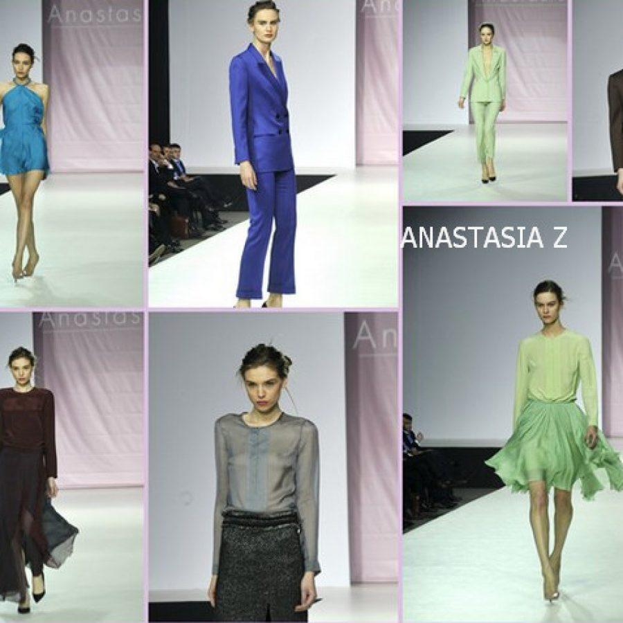 Анастасия Железнова, неделя моды в Москве зима-осень 2012-2013