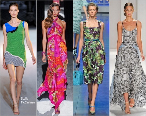 Модный сарафан лета 2012, самая стильная женщина
