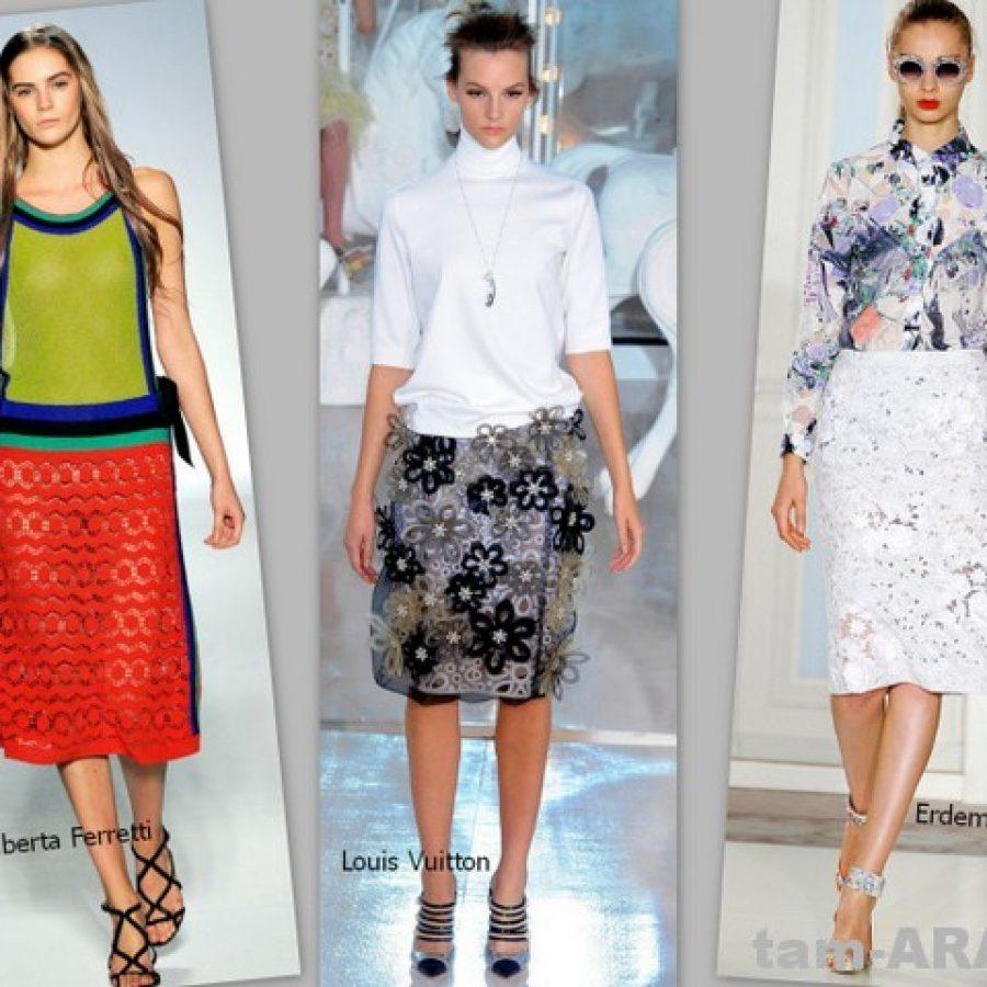 Модные юбки лета 2012 года