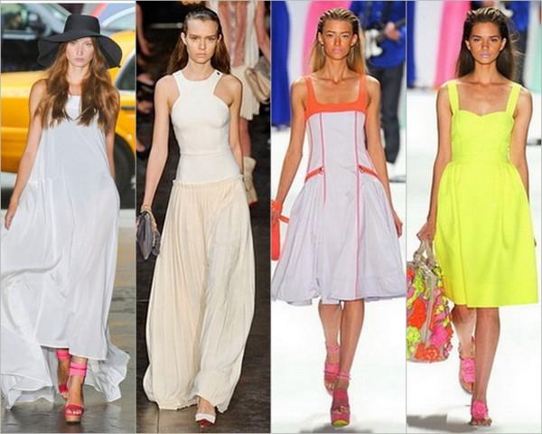 Модный сарафан лета 2012 для самой стильной женщины