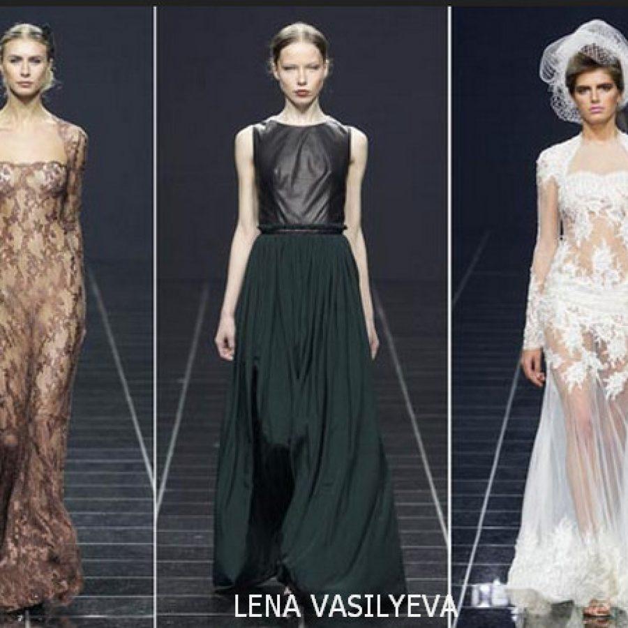 LENA VASILYEVA Volvo Fashion Week 2012 в Москве