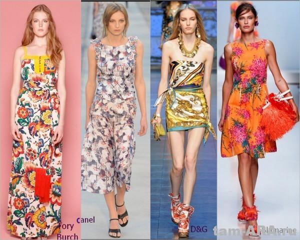 Пляжное платье, тенденции летней моды