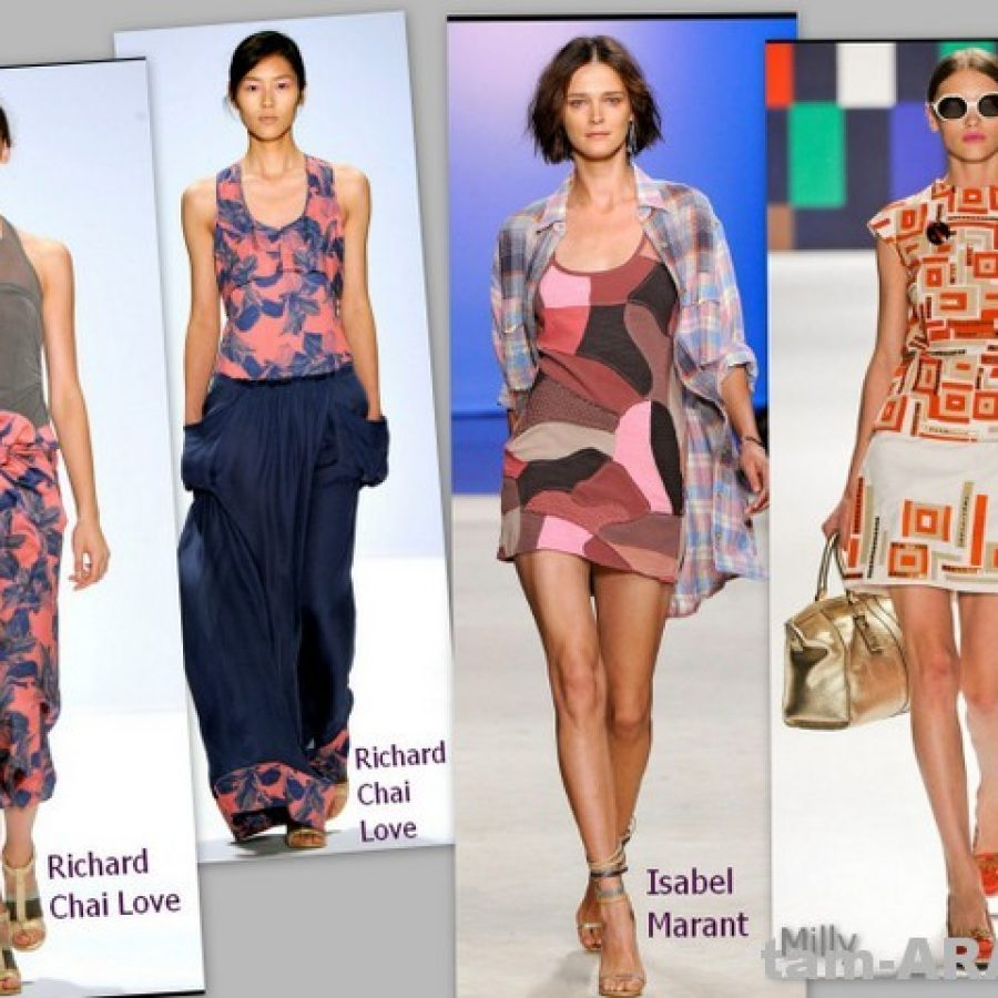 Пляжное платье, тенденции летней моды 2012