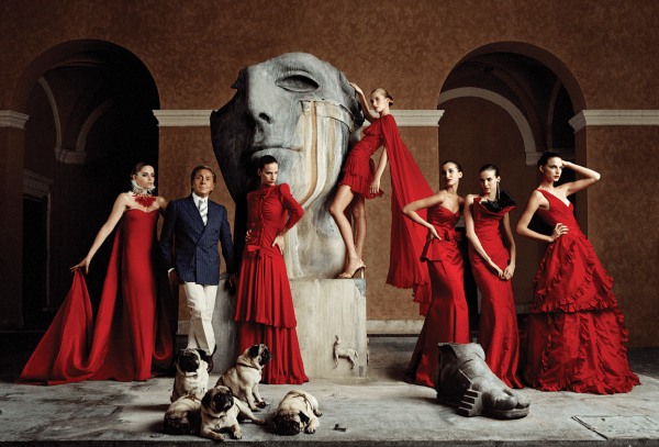 Валентино, итальянский дизайнер одежды