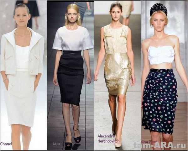 Выбираем модные юбки на весну и лето