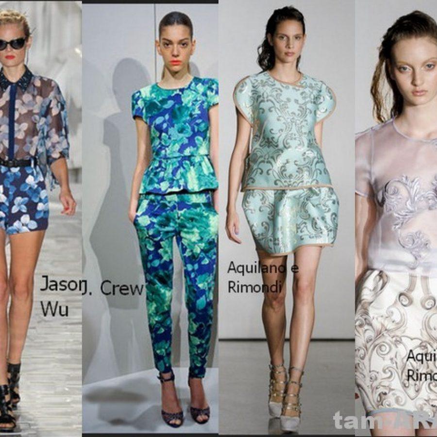 топы, майки - модные тренды 2012