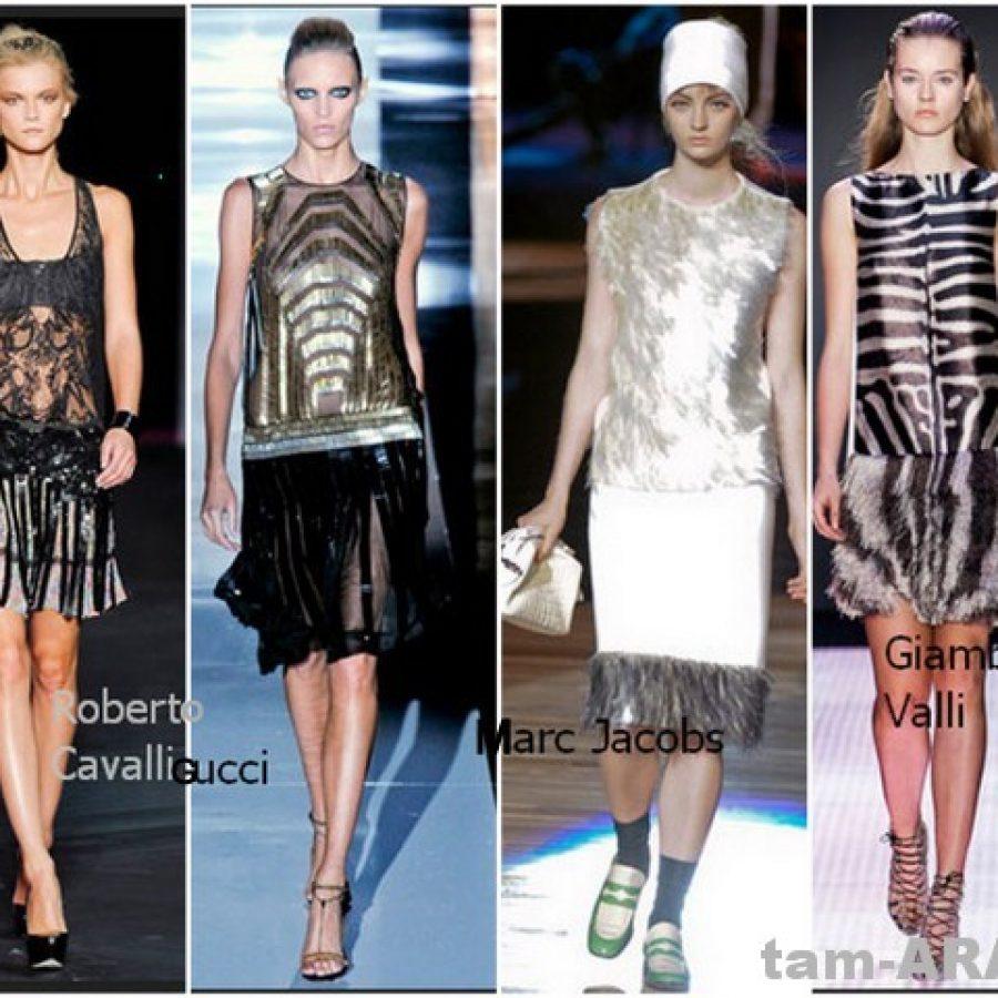 модные майки, топы 2012