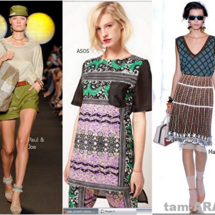 модные футболки, майки, топы сезона лето2012