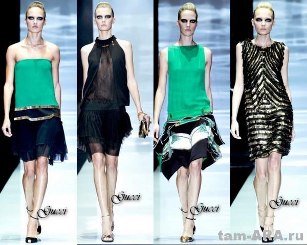 стиль арт-деко, модный тренд сезона