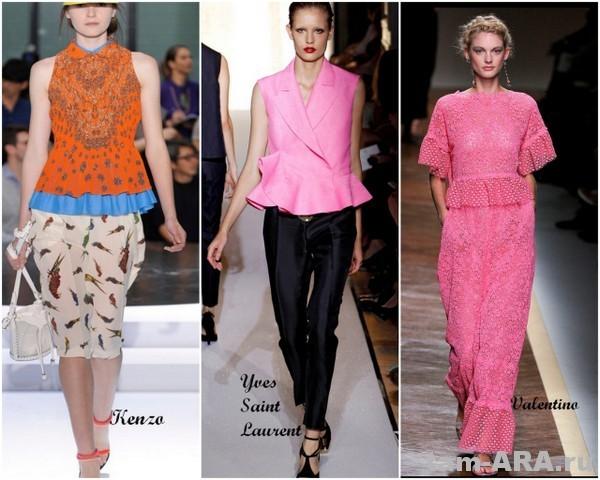модные тенденции сезона лето 2012, баска