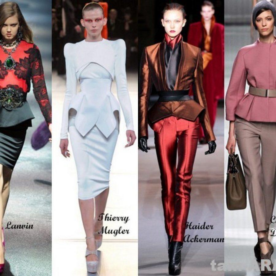 баска, модные тенденции сезона