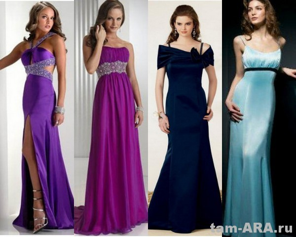модные платья для выпускного