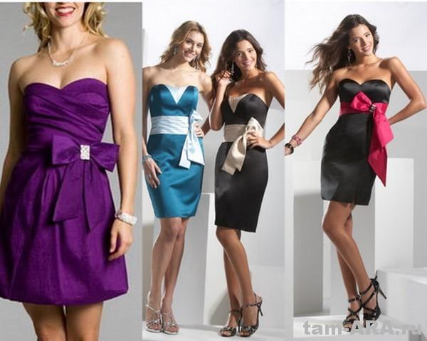Платья для выпускного и модные платья