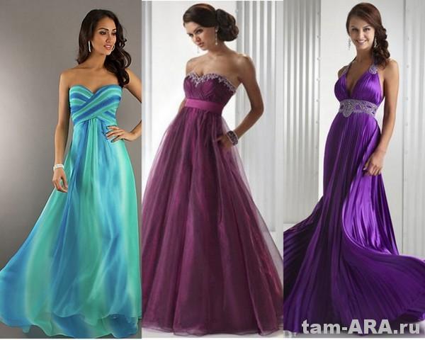 модные выпускные платья 2012